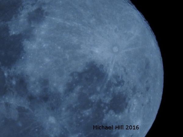 Full Moon over Brisbane Australia May 22 2016